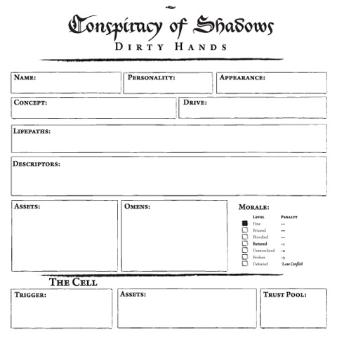 Jose Jimenez character sheet