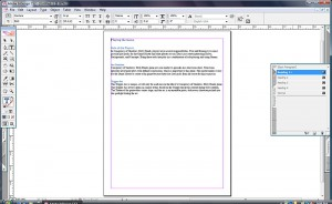 Text with styles from Microsoft Word